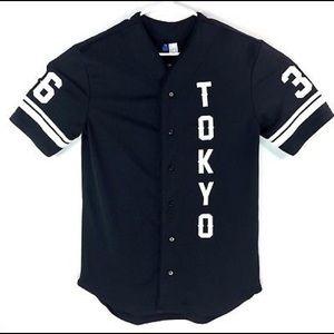 H&M Japanese baseball jersey
